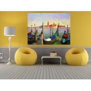 """Tablou grand canvas """"reproducere pictura ulei Venetia, Italia"""" - cod z31"""