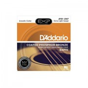 D'Addario EXP15 .010-047 Cuerdas guitarra acúst.
