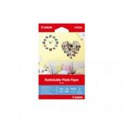 ORIGINAL Canon Carta Bianco 3635C002 RP-101 ~0 Seiten 0ml Adesivi fotografici rimovibili, 10x15cm, 5 fogli, 260 g/m².