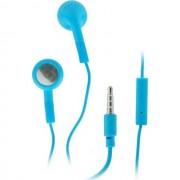 Maxy Auricolare Stereo Jack 3.5mm Universale Con Microfono Blu Per Modelli A Marchio Brondi