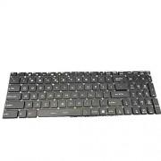 fqparts Teclado del Ordenador portátil para For MSI GL72 6QF-404XCN GL72 6QF-493XCN Color Negro Versión en inglés de EE. UU. Sin Marco Sin luz de Fondo
