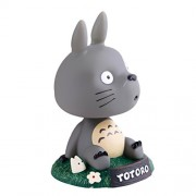 Phenovo My Neighbor Totoro Bobble Head Dancing Totoro Model Toy Car Ornament Gift