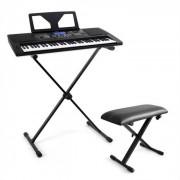 "SCHUBERT ""Little Beethoven"" Set teclado soporte taburete (PL-6322-2995)"