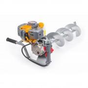 Powermat PM-SWG-600-3W motorový zemní vrták 4,41 kW + 3 vrtací nástavce