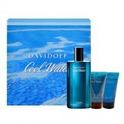 Davidoff Cool Water 75Ml Edt 75 Ml + 50Ml Docciaschiuma + 50Ml Balsamo After Shave Per Uomo (Eau De Toilette)