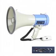 Portavoce Mare (Megafon) cu Microfon Extern, Inregistrare, Slot de Card SD/MMC si Port USB ER-66