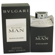 Bvlgari Man Black Cologne Eau De Toilette Spray By Bvlgari 3.4 oz Eau De Toilette Spray
