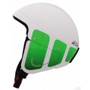 Eassun skihelm Sport Race IV unisex wit/groen maat 57/61