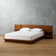 Andes Acacia Queen Bed by CB2