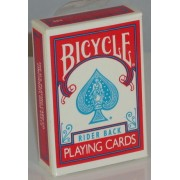 Bicycle Deck Mini Red