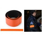 NTR SRB01OR Fényvisszaverő láthatósági pánt 34x3cm - narancs