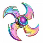 Dayspirit Rainbow Sickle Estilo Fidget Lanzar Manos Spinner