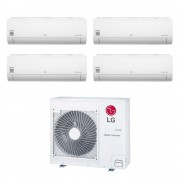 LG Climatizzatore Libero Smart Wifi Quadri Split 7000+7000+7000+12000 Btu Inverter In R32 Mu4r25