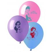 Disney 10 Balões látex Princesas Disney 28 cm