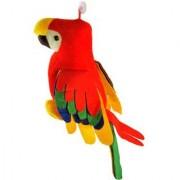 Yashi Enterprises Musical Parrot Soft Toy