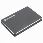 """TRANSCEND 2TB 2.5"""", USB 3.1, StoreJet® 25C3, (Siva) - TS2TSJ25C3N"""