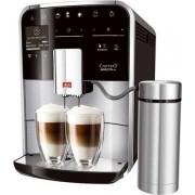 Espressor automat Melitta Caffeo Barista TSP, Dispozitiv spumare, Sistem Cappuccino, Autocuratare, 15 Bar, 1.8 l, Argintiu