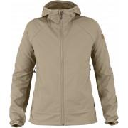 FjallRaven Abisko Hybrid Breeze Jacket W - Limestone - Softshell Jacckets XS