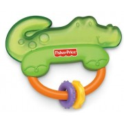Fisher Price Alligator Teether, Multi Color