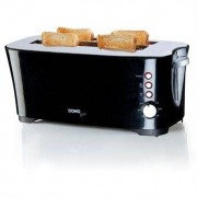 Domo Grille pain cool touch 2 tranches XL 1350 W Domo