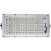 HI Bright Metal 50 Watt 220-240V Waterproof Landscape IP65 Perfect Power LED Flood Light (White)