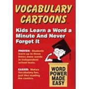 Vocabulary Cartoons: Word Power Made Easy, Paperback