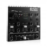 Skytec STM-2250,USB SD MP3 FX, 4-csatornás keverőpult (Sky-172.979)