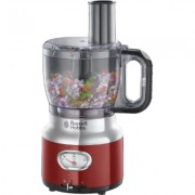 Russell Hobbs Retro Red Food Processor, 25180-56