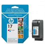 Касета HP 17, Tri-color, p/n C6625A - Оригинален HP консуматив - касета с глава и мастило