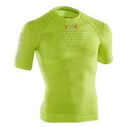 X-Bionic Effektor Running Power Hardloopshirt korte mouwen Heren groen S/M 2018 Compressie shirts