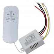 230V duo relé modul s diaľkovým ovládačom
