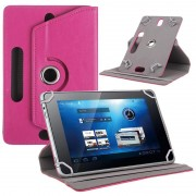 Universal Rotary Folio Case for Tablets - 7.9-8.4 - Hot Pink