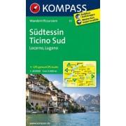 Collectif - Südtessin - Ticino Sud - Locarno - Lugano: Wanderkarte. GPS-genau. 1:40000 - Preis vom 02.04.2020 04:56:21 h