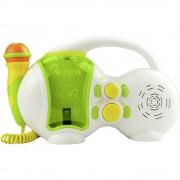 Dječji uređaj za karaoke Bobby Joey 701543 X4 Tech USB uklj. mikrofon bijela, zelena