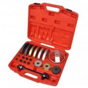 vidaXL Комплект инструменти за лагера на главината 19 части; 62, 66, 72 мм