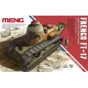 MENG-Model French FT-17 Light Tank (Cast Turret) makett TS-008