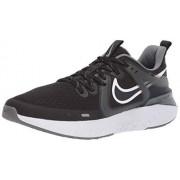 Nike Legend React 2--001 Tenis para Correr para Hombre, Color Black/White-Cool Grey-Metallic Cool Grey, 10