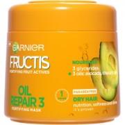 Garnier Fructis Oil Repair 3 mască fortifiantă pentru păr uscat și deteriorat 300 ml