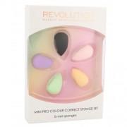 Makeup Revolution London Pro Colour Mini апликатор 5 бр за жени