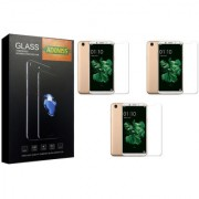 Adoniss [9H] Edge to Edge Premium Tempered Glass Mobile Screen Protector (Pack of 3) for Oppo A83