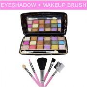 Eyeshadow kit with Makeup Brush Kit