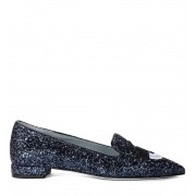 "Chiara Ferragni Collection Decolleté Chiara Ferragni ""Flirting"" in glitter blu"