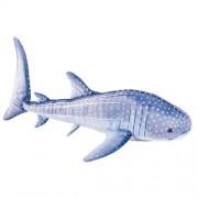 Adventure Planet Plush - WHALE SHARK ( Blue - 17 inch )