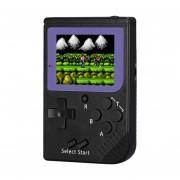 Rs-6 Retro Mini Consola Portatil, 2,5 Pulgadas 8 Bits Color 129 Juegos Retro FC Jugador Del Juego (negro)