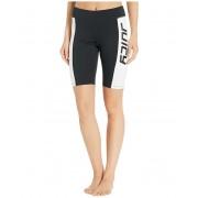 Juicy Couture Juicy Logo Color Block Sport Bike Shorts Pitch Black