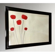 Red Poppies Mirror 30X20
