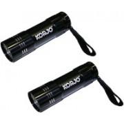 Korjo KT79L-BLACK-2 Qty LED Spot Light(Black)
