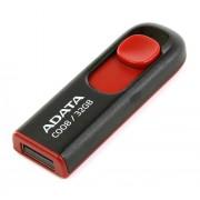 USB Flash Drive 32Gb - A-Data C008 Classic Black-Red AC008-32G-RKD