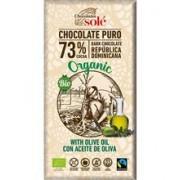 Ciocolata Neagra Bio cu Ulei Masline Pronat 100gr