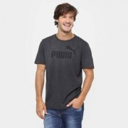 Camiseta Puma Ess No.1 Heather Tee Masculina - Masculino